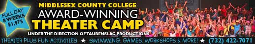 Middlesex County College summer Theater Camp, New Jersey