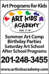 Art Kids Academy, art classes, summer camp, birthday parties, NJ