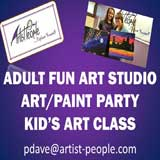 Artist People art summer camp and enrichment classes for kids and adults, Roselle, NJ