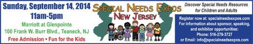 Special Needs Expo New Jersey, September 14, 2014