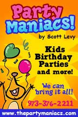 Party Maniacs, kids birthday parties and more