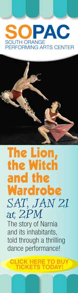The Lion, the Witch and the Wardrobe, South Orange Performing Arts Center, NJ